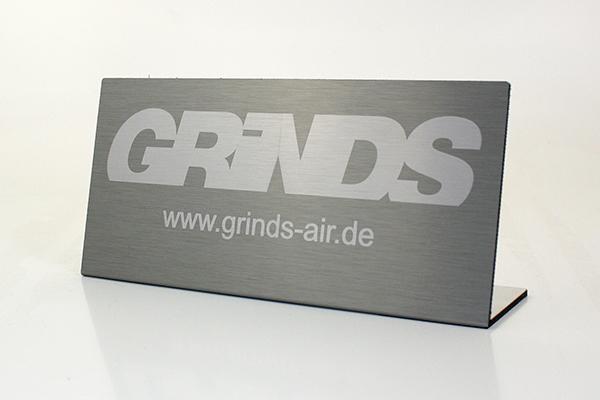 Sonderprojektierung - Aluverbundplatte für Grinds