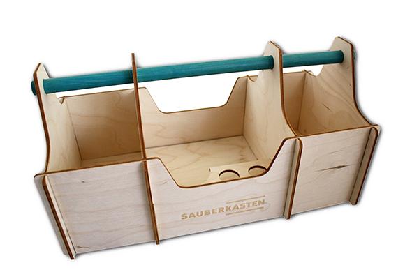 Sonderprojektierung Holzkasten für Sauberkasten